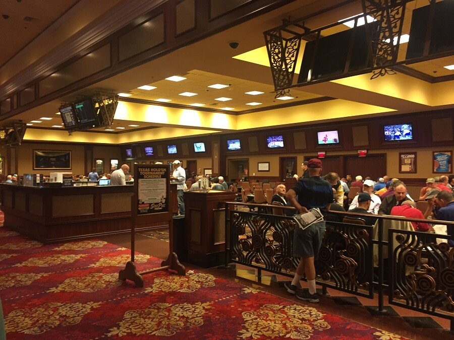 Pokerroom in South Point