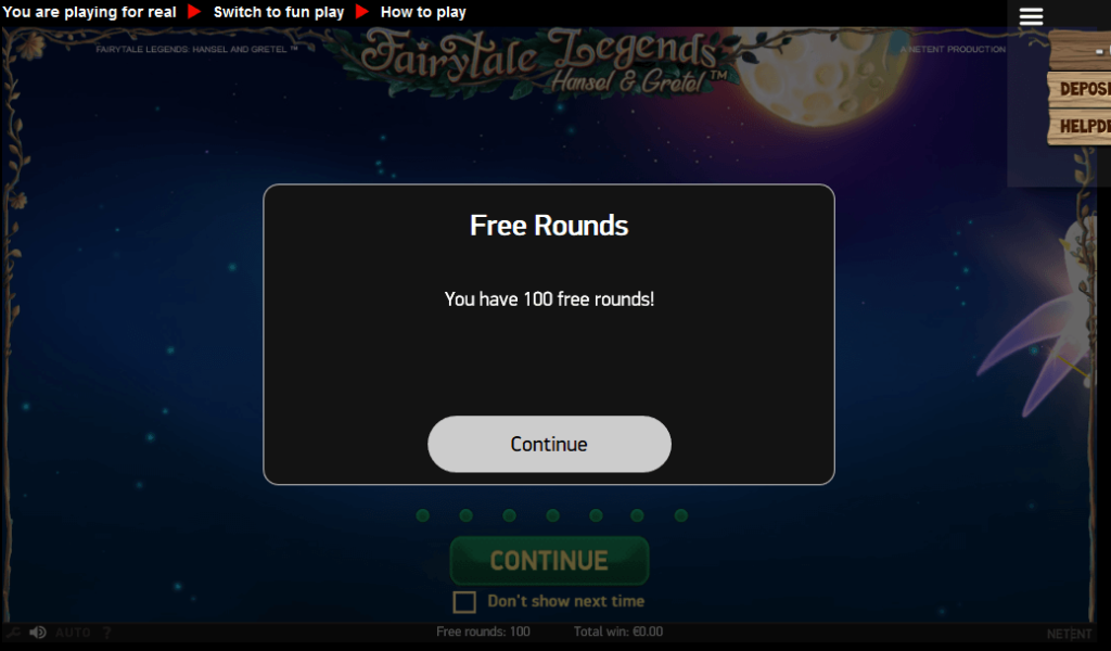 PlaySunny 100 free spins