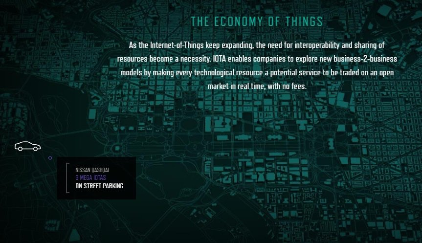 The economy of things