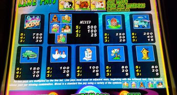 Invaders from the Planet Moolah van WMS [review] screenshot