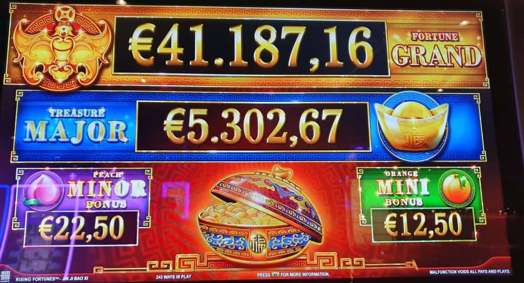 Jackpots Rising Fortunes